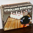 Tomy 7071 Strolling Bowling Portable Alley Toy Game Windup Hopping Ball Carry Case