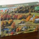 West Topsham Vermont 2000 Piece Jigsaw Puzzle 4565-20 Super Big Ben MB Milton Bradley 1989