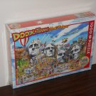 Doodletown Mt Mount Rushmore 1000 Piece Jigsaw Puzzle Doodle Town Cobble Hill NIB New Sealed