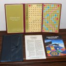 Vintage Pocket Travel Edition Scrabble Crossword Game No 27 Selchow & Righter 1978