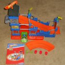 Fisher Price Trio Bricks Sticks Panels V9539 Hot Wheels Super Stunt Builder 93 Parts Complete