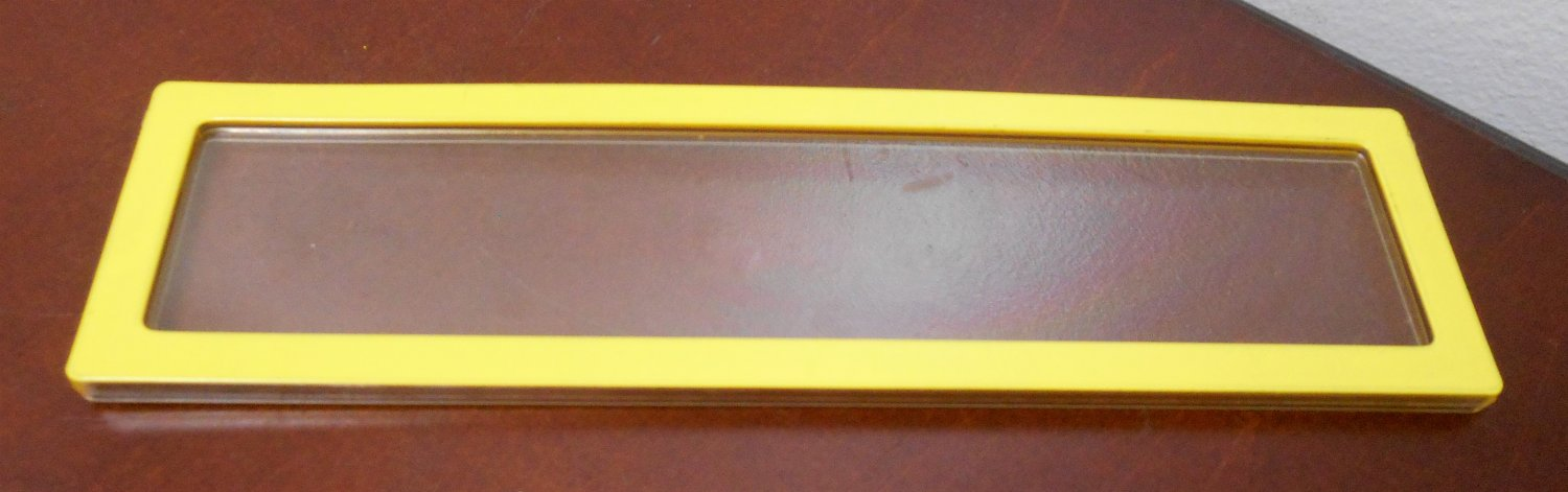 Yellow 7½ x 2 Replacement Window 2588-2349 Barbie A Frame Dream Doll House Dollhouse Parts Mattel