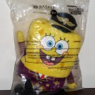 Spongebob Squarepants Plush Toy Qatar Airways Airline Pilot Nickelodeon NIP