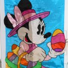 Minnie Mouse Decorative Garden Flag Easter Eggs Basket Bonnet Nylon NCE Walt Disney