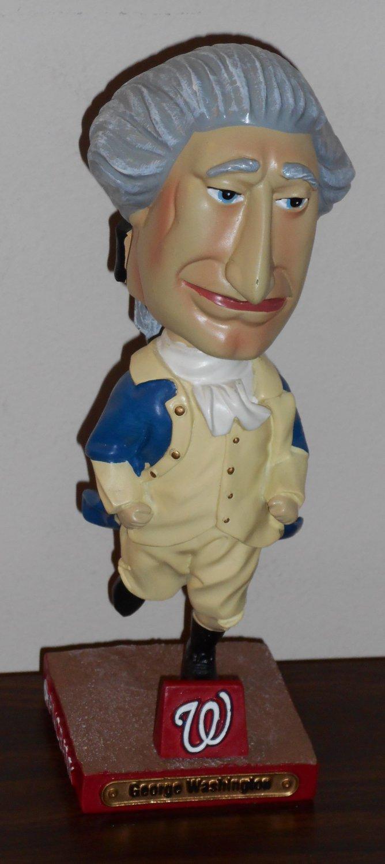 George Washington Bobblehead Nationals Racing Presidents Bobble Head Doll Nodder 2007 MLB