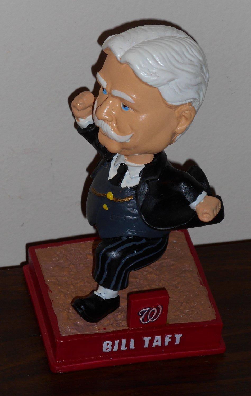 William Bill Taft Washington Nationals Racing Presidents Bobble Head Bobblehead Doll Nodder 2014 MLB