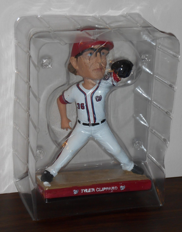 Tyler Clippard Washington Nationals Baseball Pitcher Bobble Head Bobblehead Doll Nodder 2014 MLB