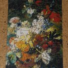 Wentworth 75 Piece Wooden Jigsaw Puzzle Flowers With Butterfly Whimsies COMPLETE