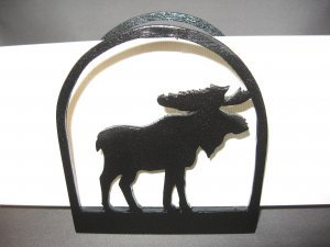 Moose napkin or letter holder
