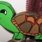 Wood Handpainted Garden Turtle