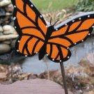 Orange Butterfly Plant Poke