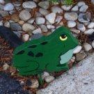 Frog Garden sign