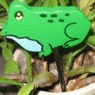 Frog green  Plant Poke