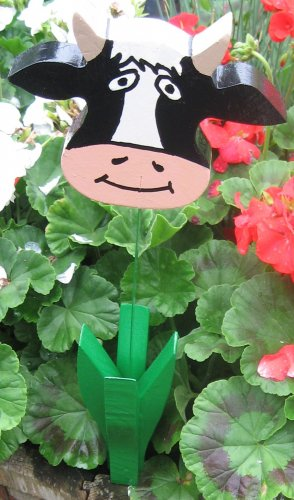 Cow garden flower wood