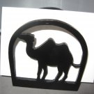 Camel wooden napkin holder or letter holder