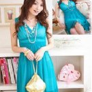 Romantic Chiffon dress w inner tube Size S/M