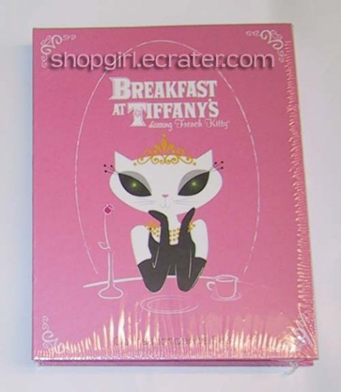 Breakfast at Tiffany's starring French Kitty Correspondence Writing Set