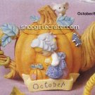 Precious Moments by Enesco October/Fall Collectible Mini Teapot