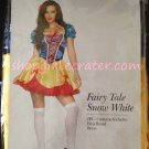 Fairy Tale Snow White Adult Women's Halloween Costume Size S/M