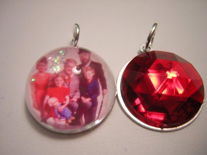 Family Afair Vintage Style Bubble Charm