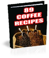 Coffee Recipes e-book with resell rights