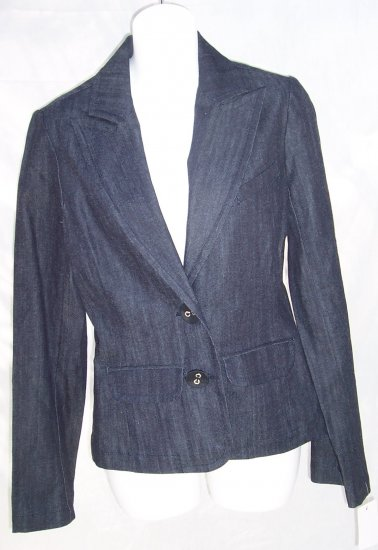 TRINA TURK Barneys Denim Jacket Blazer Jacket