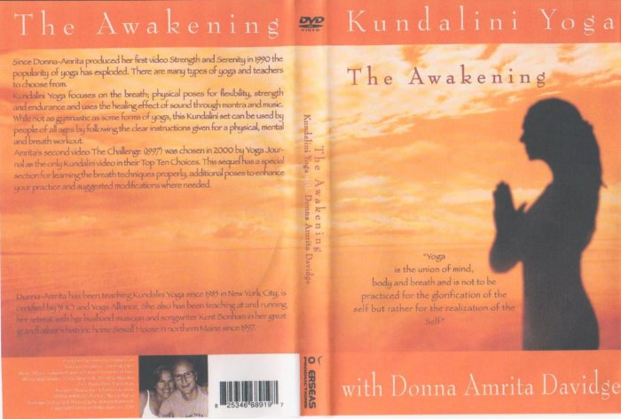 Kundalini Yoga- The Awakening DVD Donna Amrita Davidge
