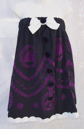 MANOUSH Bow Tunic Babydoll Mini Dress or Skirt S