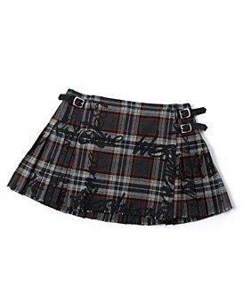 Vivienne Westwood for Nine West Plaid Mini Kilt Skirt NWT M