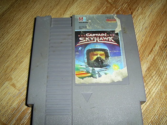 Captian SkyHawk Nintendo Game (FREE SHIPPING)
