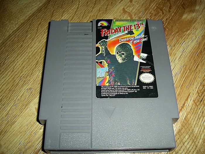 Friday The 13th Nintendo Game (FREE SHIPPING)