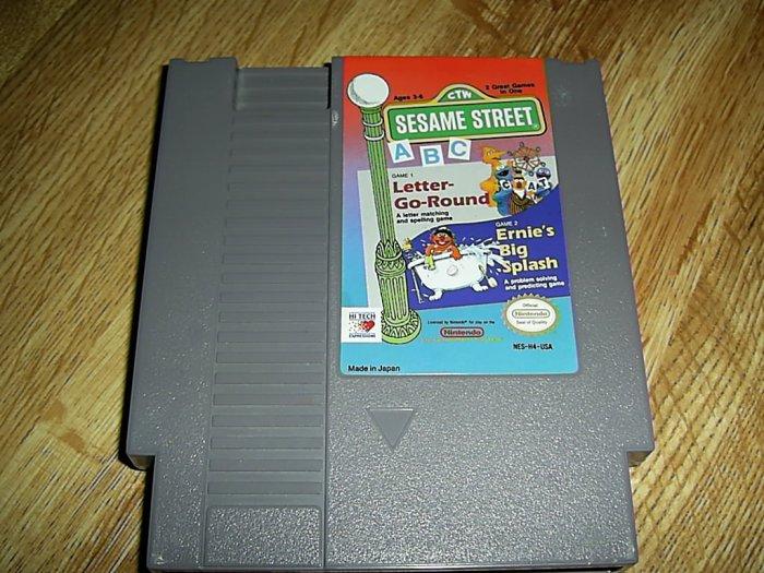Sesame Street Nintendo Game (FREE SHIPPING)