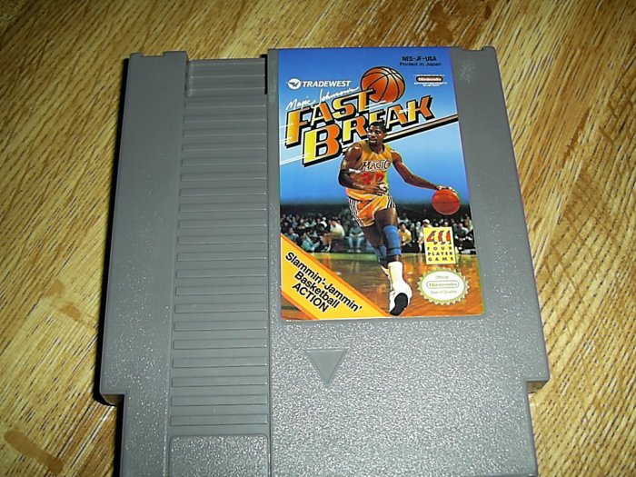 Fast Break Basketball Nintendo Game (FREE SHIPPING)