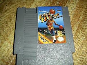 Fast Break Basketball Nintendo Game (FREE SHIPPING)