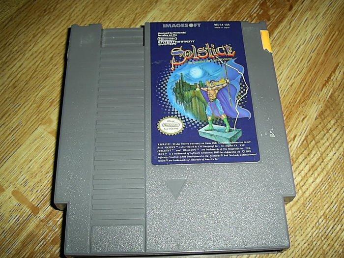 Solstice Nintendo Game (FREE SHIPPING)