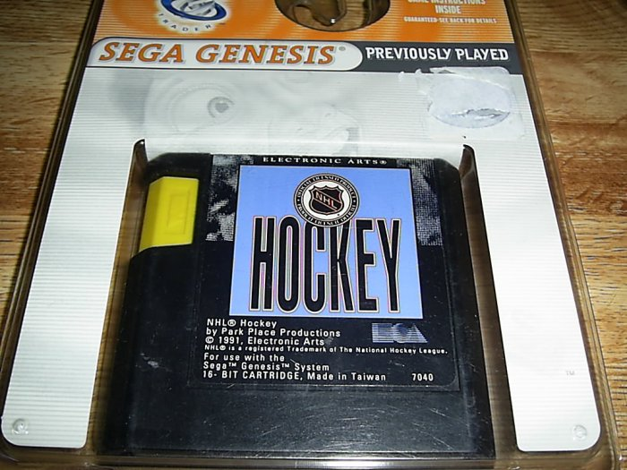 NHL Hockey (Sega Genesis) FREE SHIPPING