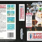 Sports Talk Baseball Sega Genesis Game (FREE SHIPPING)
