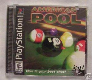 FREE SHIPPING American Pool (Playstation)