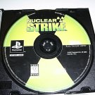 Nuclear Strike   (Playstation Game) FREE SHIPPING