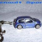 RENAULT SPORT CAR  KEYCHAIN & SWIVEL CLIP (FREE SHIPPING)