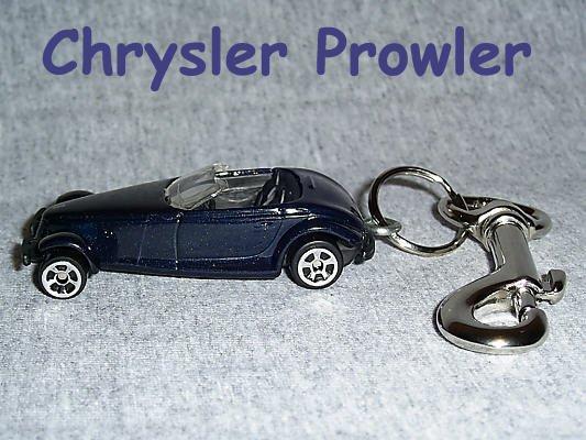 Chrysler Prowler Keychain & Swivel Clip (FREE SHIPPING)