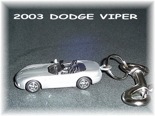2003 Dodge Viper Keychain & Swivel Clip (FREE SHIPPING)