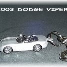 2003 Dodge Viper Keychain & Swivel Clip (FREE SHIPPING)