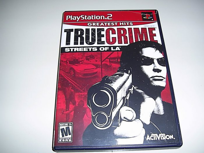 True Crime  (Playstation 2) FREE SHIPPING