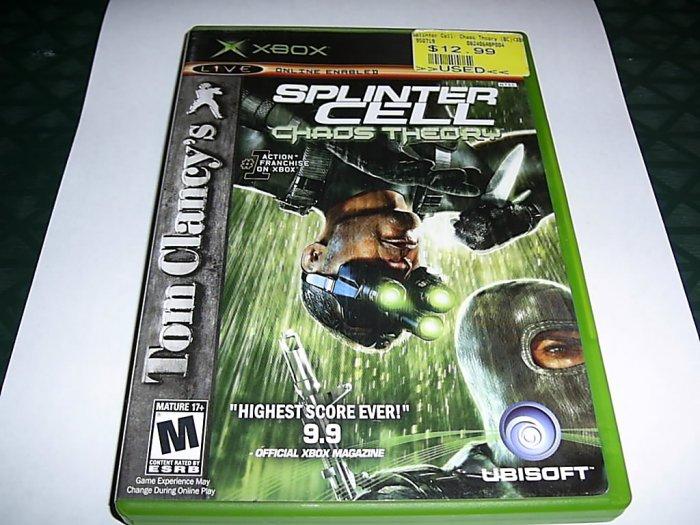 Tom Clancy's Splinter Cell  (Xbox) FREE SHIPPING