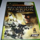 Full Spectrum Warrior (Xbox) FREE SHIPPING