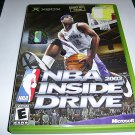 NBA INSIDE DRIVE 2002 XBOX FREE SHIPPING