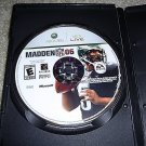 Madden NFL 2006 For Xbox FREE SHIPPING