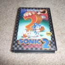 Sonic The Hedgehog 2 (Sega Genesis Game) FREE SHIPPING