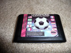 Champions World Class Soccer (Sega Genesis Game) FREE SHIPPING